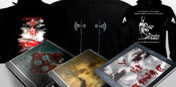 Pack - La veste ou le sweat + 1 t-shirt + les 3 albums de Cristalys + un poster